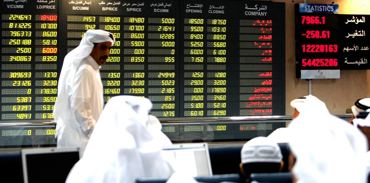 الحرب التجارية تهبط بأسواق الأسهم الخليجية
