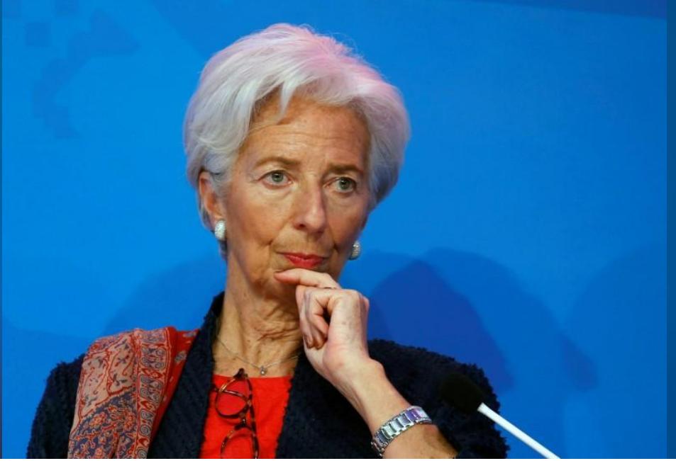 كريستين لاجارد مديرة صندوق النقد الدولي