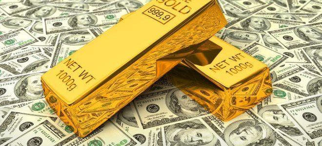 الذهب و الدولار