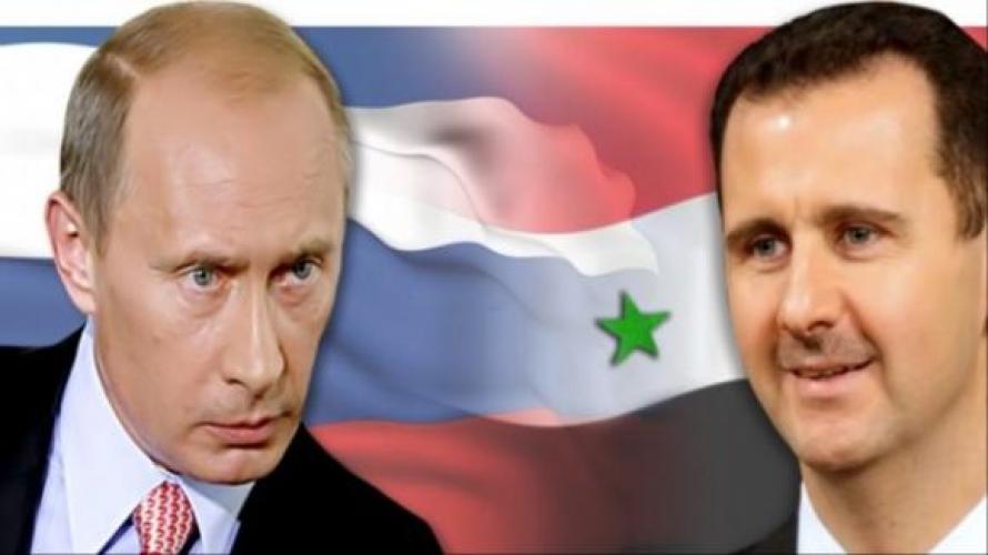 الرئيس السوري ونظيرة الروسي