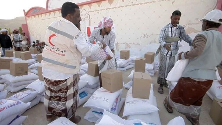 المساعدات الاماراتية في اليمن