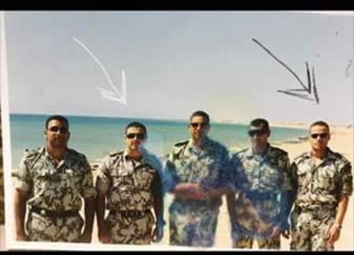 صورة تجمع الشهيد المنسي مع الارهابي عشماوي