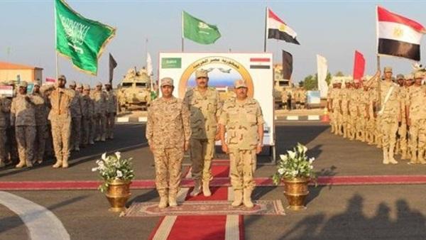 فعاليات التدريب المصري السعودي المشترك (تبوك– 4)