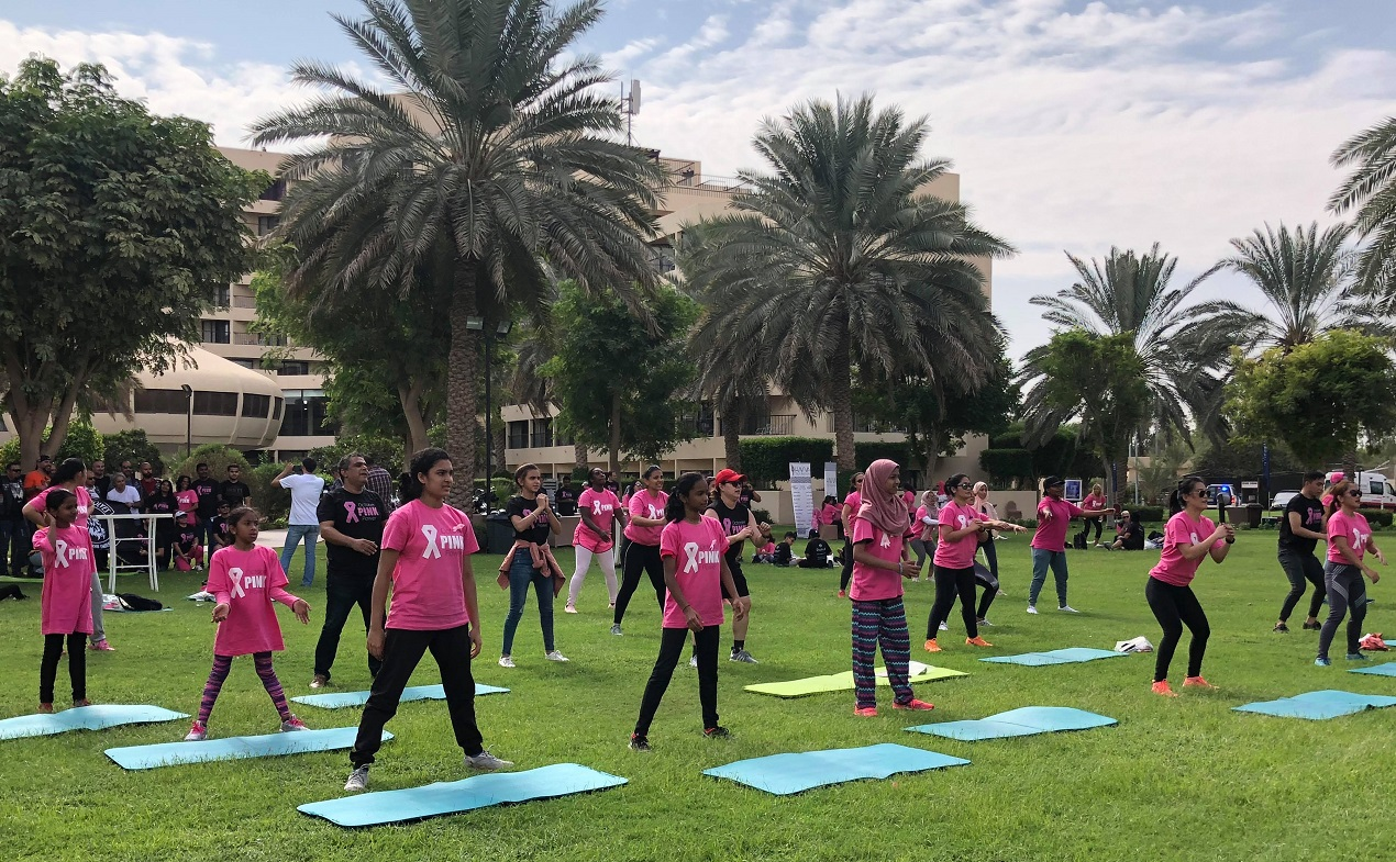 حملة Pink Power- أبوظبي
