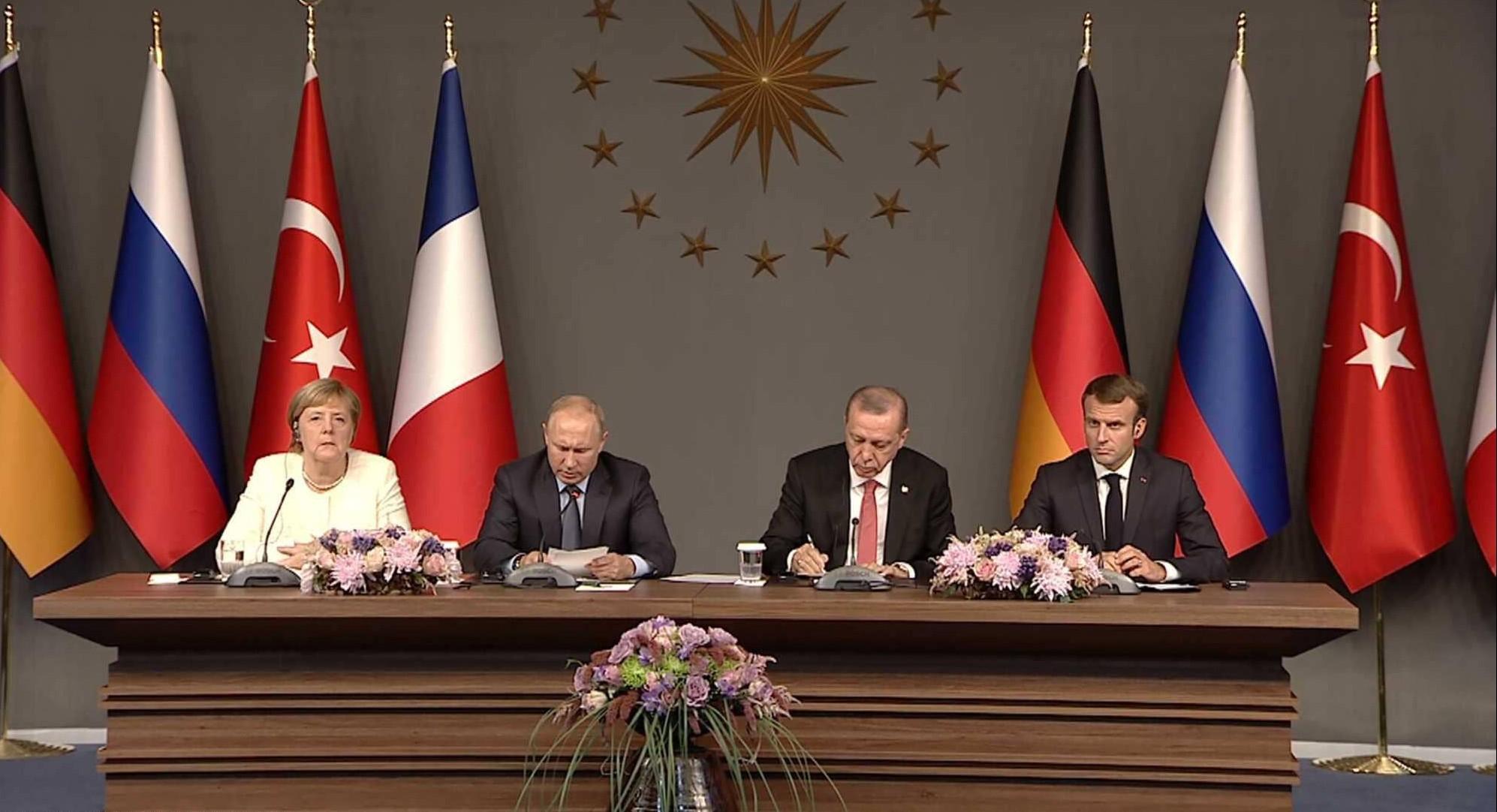 القمة  تبحث الحل السياسي في سوريا