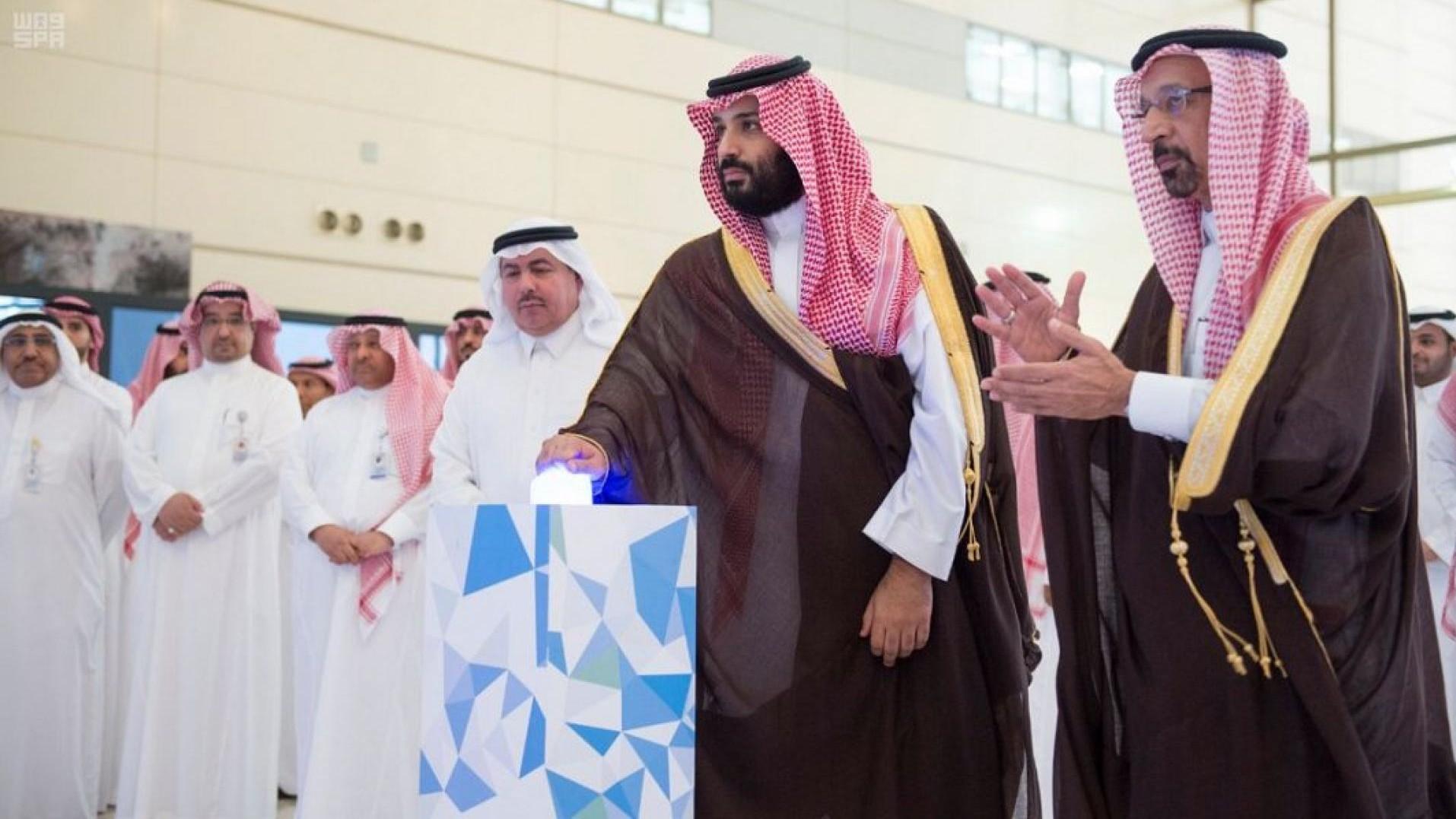 ولي العهد السعودي يدشن 7 مشاريع إستراتيجية بينها مشروع أول مفاعل نووي للأبحاث