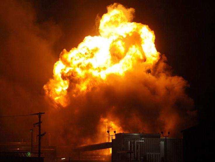 انفجار بمصنع أسمدة فى الصين
