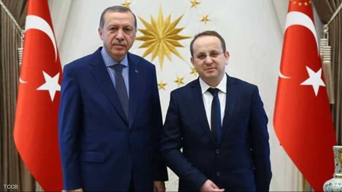أردوغان خلال استقبال أونال عام 2016