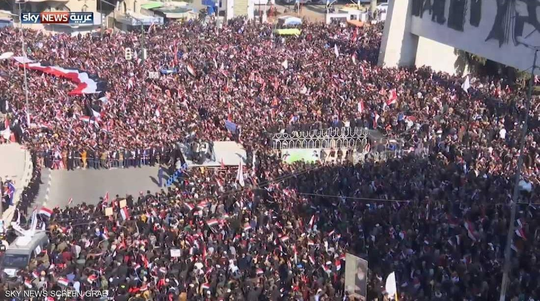 دعوات لتظاهرات عراقية حاشدة رفضاً للإملاءات الإيرانية