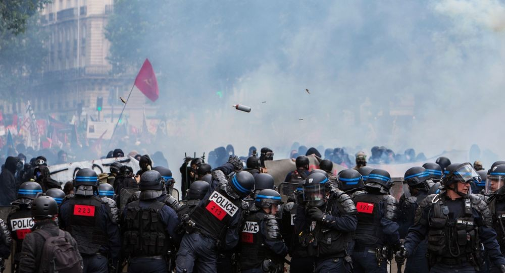 جانب من احتجاجات باريس خلال الأيام الماضية