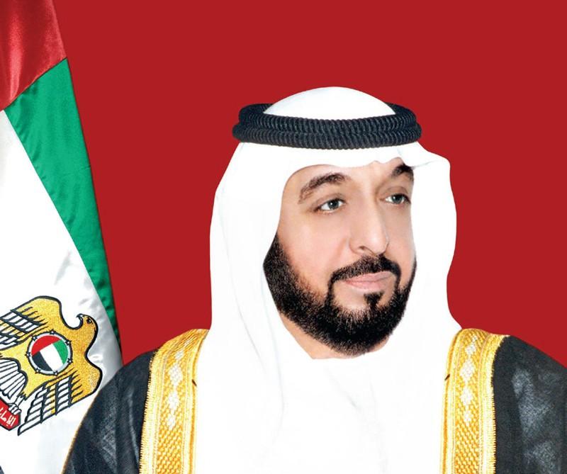 صاحب السمو الشيخ خليفة بن زايد رئيس دولة الإمارات