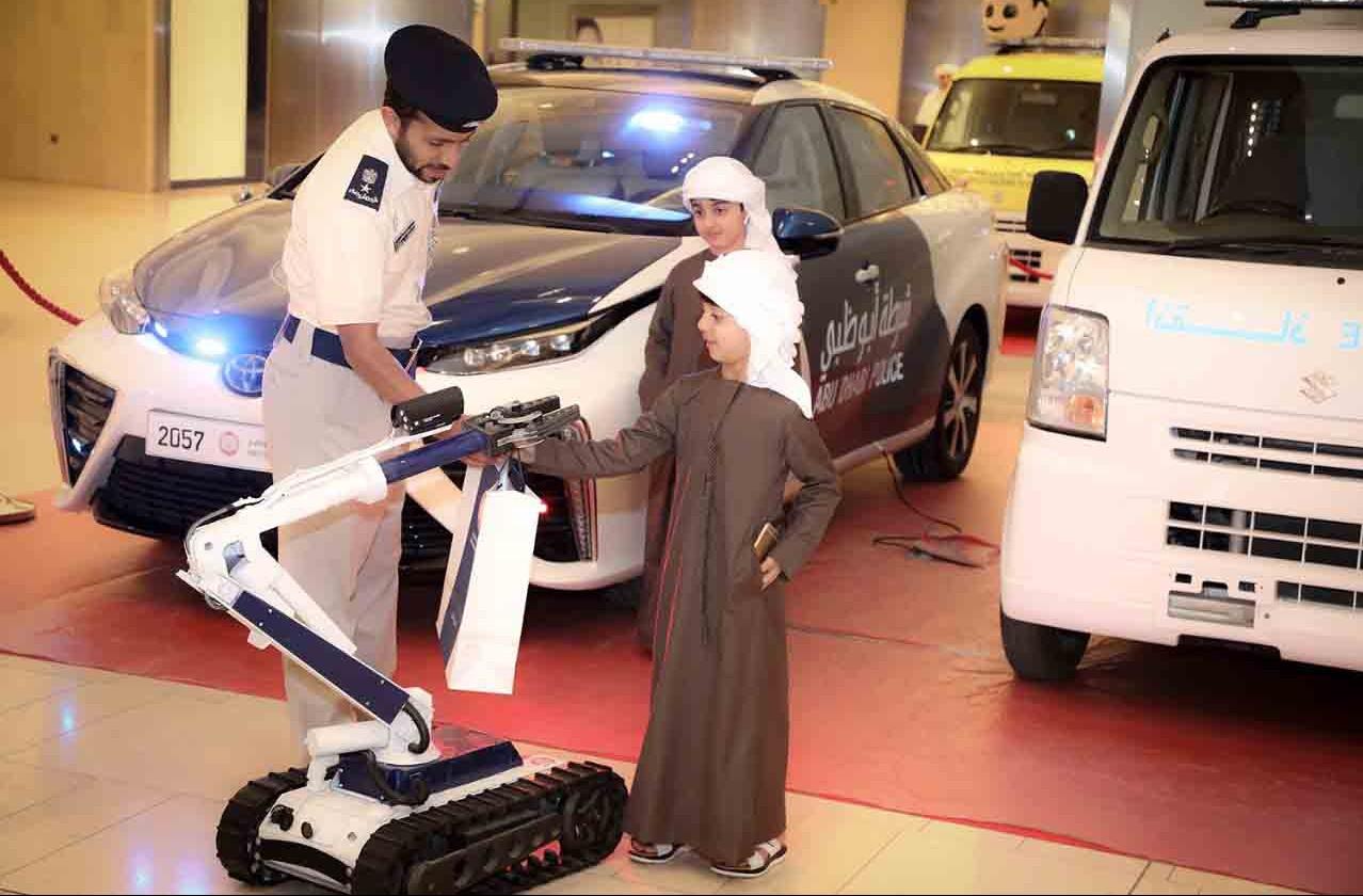 11 ابتكاراً لشرطة أبوظبي تحفز الطلبة على الإبداع