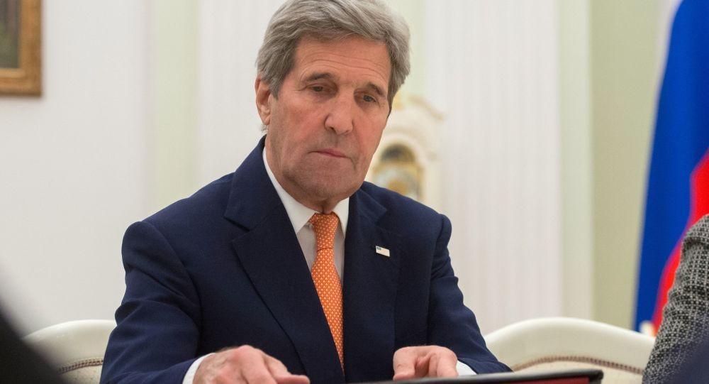 جون كيري وزير الخارجية الأمريكي الأسبق
