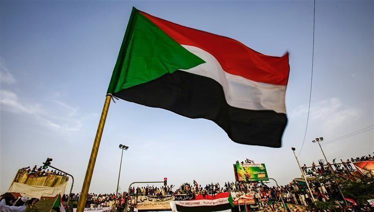 جانب من المتظاهرين في الخرطوم
