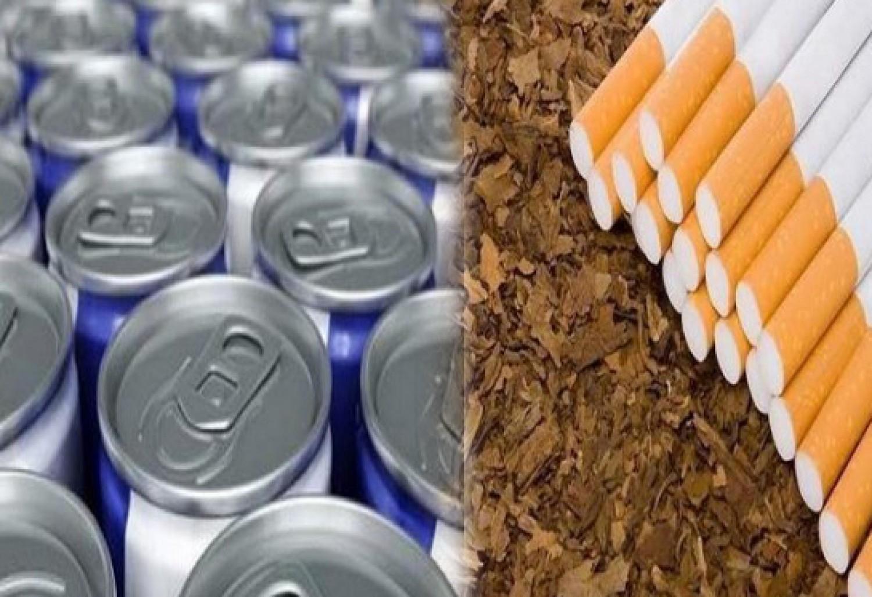التبغ ومشروبات الطاقة