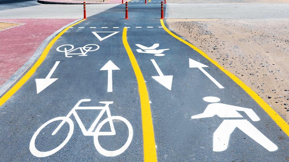 مسارات الدراجات الهوائية
