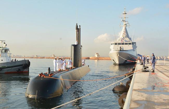 الغواصة المصرية