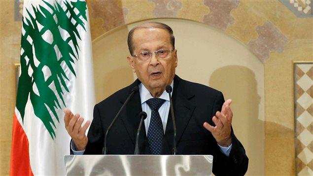 الرئيس اللبناني العماد ميشال عون