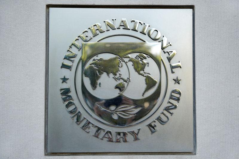 شعار صندوق النقد الدولي في واشنطن