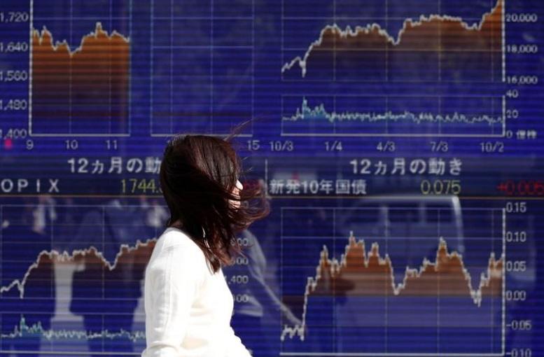 بورصة طوكيو في بداية التعاملات اليوم