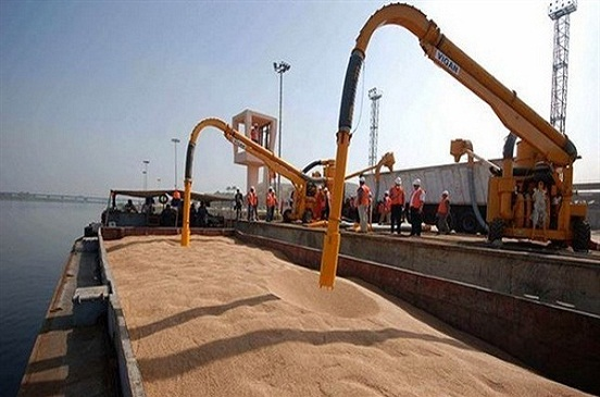 وصول باخرة تحمل 30 ألف طن قمح إلى ميناء الأسكندرية