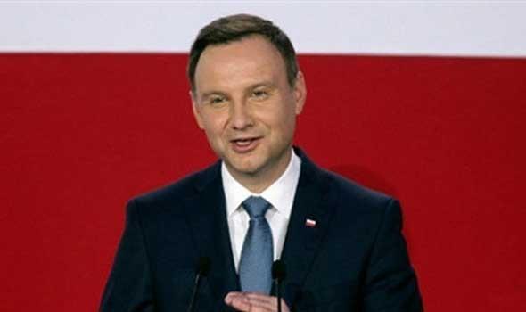 الرئيس البولندي أندجي دودا