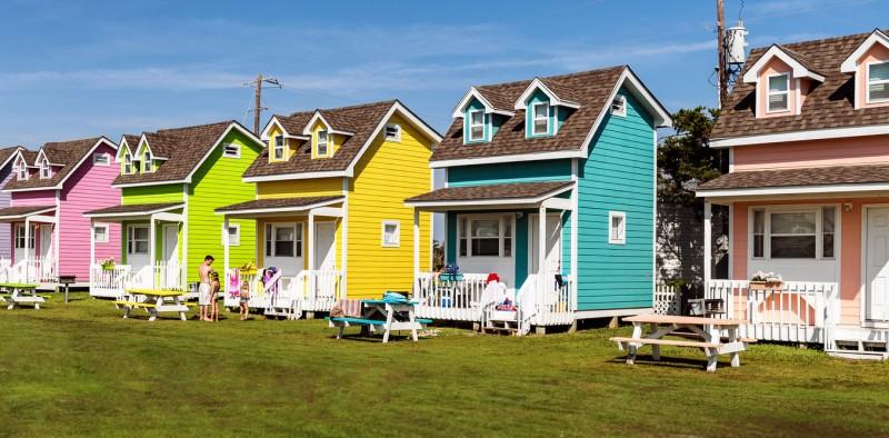 بناء المنازل الأمريكية