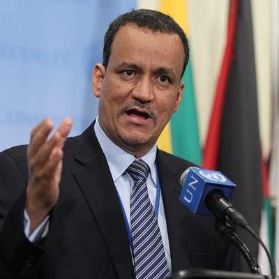مبعوث الأمين العام للأمم المتحدة إلى اليمن إسماعيل ولد شيخ أحمد