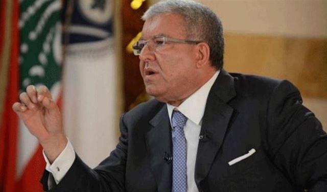 نهاد مشنوق وزير الداخلية اللبناني