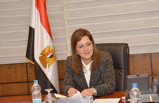 الدكتورة هالة السعيد وزيرة التخطيط المصرية