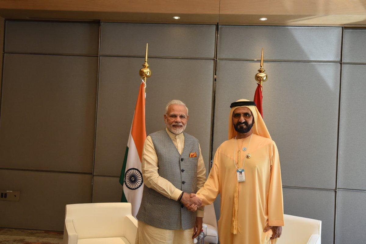 استقبال رسمي لرئيس وزراء الهند بالإمارات