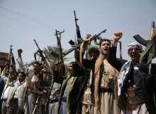 عناصر من الميليشيات الحوثية