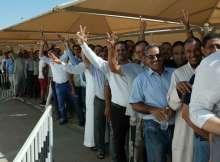 الإقبال الكثيف على صناديق الاقتراع