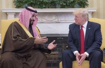 ترامب  و ولي العهد السعودي