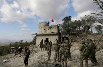 العمليات العسكرية فى عفرين