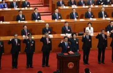الحكومة الصينية الجديدة