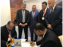 مصر وكينيا يوقعان اتفاقية لصيانة الطائرات