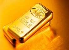 الذهب يغلق على انخفاض
