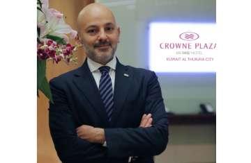رافي طوريكيان مساعدًا لمدير عام فندق كراون بلازا وهوليداي إن الكويت الثريا سيتي