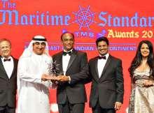 الأحواض الجافة العالمية تفوز بجائزة أفضل منشأة إصلاح لعام٢٠١٨