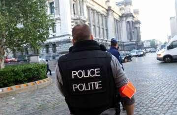 طعن شرطي وسط بروكسل