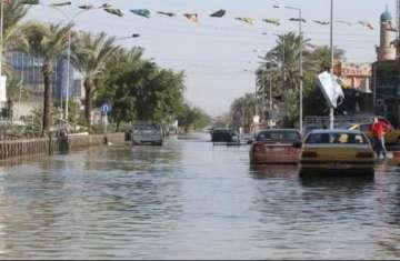 سيول قاتلة تشل شمالي العراق.. وفيديو يرصد حجم الكارثة
