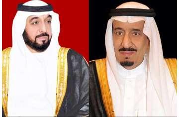 سلطان بن زايد يهنىء خادم الحرمين بالذكرى الرابعة لتوليه مقاليد الحكم