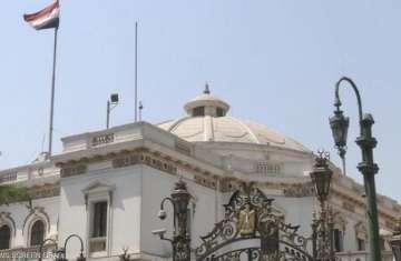 مبني البرلمان المصري بالقاهرة