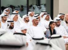 Mohamed bin Zayed attends lecture on 'The Science of Innovation'