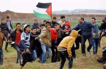 فلسطنيين فى وجه الاحتلال (أرشيفية)