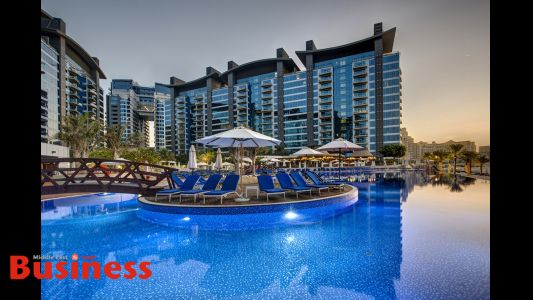 بارسيلو الفندقية تبدأ بتشغيل فندق 'ديوكس نخلة دبي إيه رويال هايداواي هوتيل'