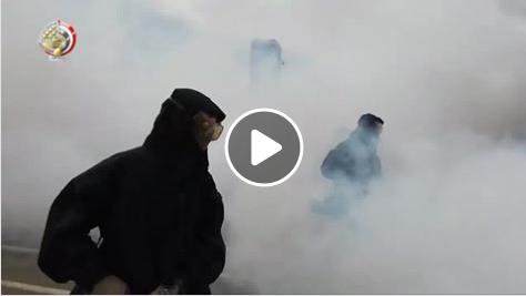 شاهد.. القوات المسلحة المصرية تنشر فيديو