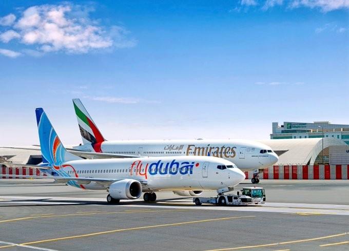 طيران الإمارات وفلاي دبي