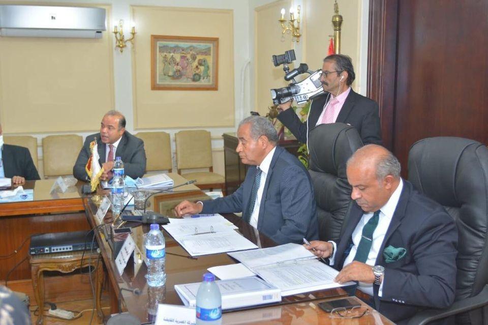 اجتماع وزير التموين المصري
